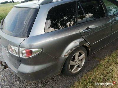 używany Mazda 6 benzyna - cena złomu