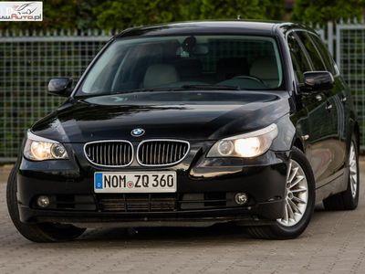 używany BMW 525 seria 5 2.5dm3 177KM 2007r. 260 000km d 177KM ! MANUAL ! Serwisowana ! po Opłatach !