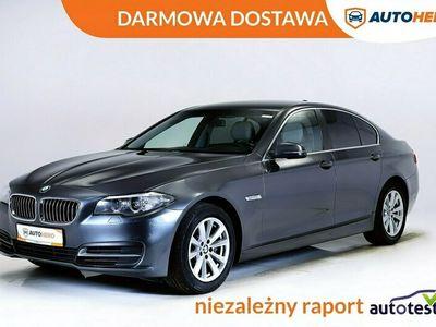 używany BMW 518 DARMOWA DOSTAWA, Serwis ASO, Xenon, LED, Navi, Klima auto, Skóra F10 (2009-2017)