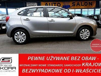 używany Suzuki Baleno GWARANCJA I-wł Kraj Bezwypadkowa FV vat 23% IDEAŁ, Katowice-Mysłowice