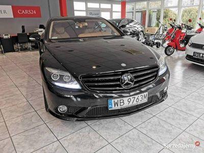 używany Mercedes CL500 Gwarancja Salon Serwis Pakiet AMG Edition C216 (2006-)
