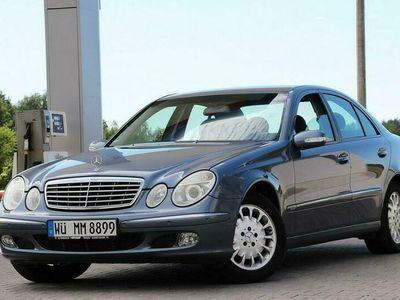 używany Mercedes E200 E 240Kompressor 163KM Elegance Chromy Pdc Serwis Tempomat Niemcy W211 (2002-2009)