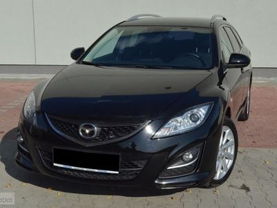 używany Mazda 6 II Navi dotyk/ Kamera/ Internet/ DVD/ Alu/ Grzania