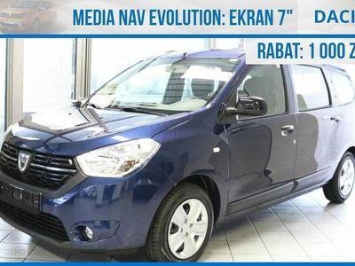 używany Dacia Lodgy LAUREATE 115Km 7 miejsowa !! Nawigacja !! Czujniki Extra Cena Okazja, Chorzów