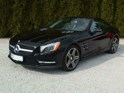 używany Mercedes SL550 4.6dm 435KM 2014r. 69 800km