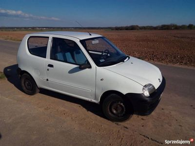 używany Fiat Seicento 1.1 MPI VAN VAT-1 2002