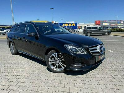 używany Mercedes E220 2.1dm 170KM 2017r. 78 895km