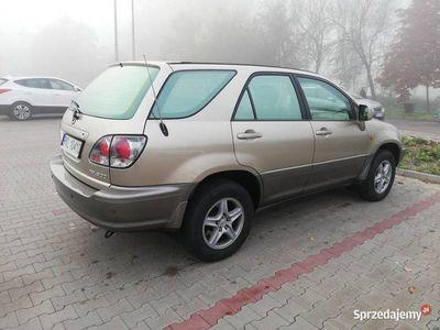 używany Lexus RX300 2001r 3.0v6 bezn+gaz salon Polska