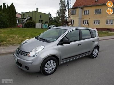 używany Nissan Note 1.4dm 88KM 2008r. 207 000km
