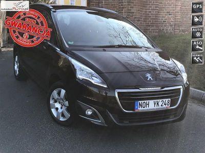używany Peugeot 5008 5008 1.6dm3 120KM 2015r. 190 000kmE HDI 7 OSOBOWY DUŻA NAVI LEDY CZARNY !!!