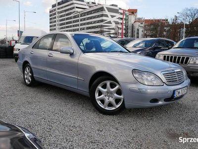 używany Mercedes S500 Klasa2000 358 000 km Benzyna Sedan