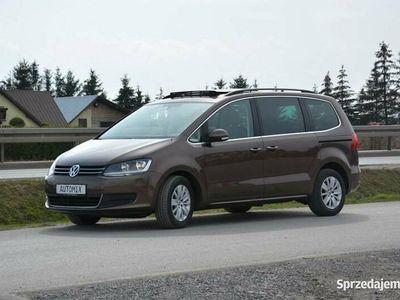 używany VW Sharan 2.0 TDI panorama climatronic gwarancja przebiegu