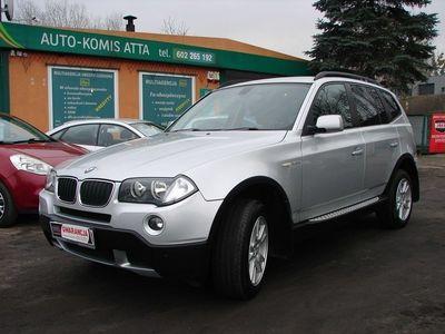 używany BMW X3 2dm3 150KM 2008r. 195 000km 2.0 D 150 KM Lift Zamiana