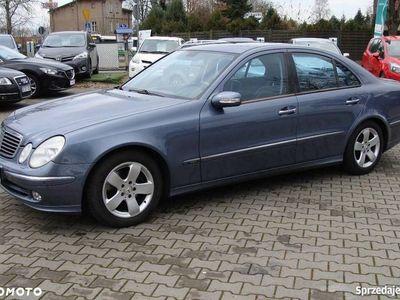 używany Mercedes E240 avangarde