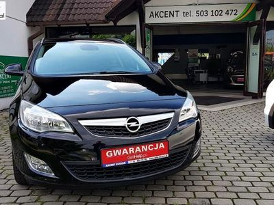 used Opel Astra 1.4dm3 140KM 2011r. 105 636km Sports Tourer Innovation niski przebieg!