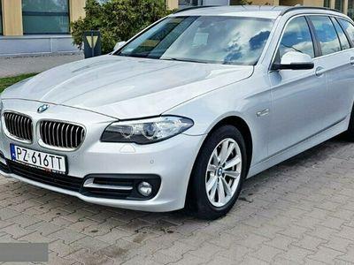 używany BMW 518 2dm 136KM 2014r. 134 000km