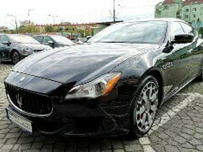 używany Maserati Quattroporte VI 3.0i V6 SQ4 BiTurbo 410kM 4x4 Automat I Wł. Serwis