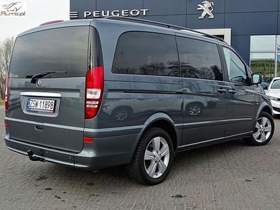 używany Mercedes Viano 3.0dm3 224KM 2013r. 119 444km Ambiente Polski Salon 3,0 V6 diesel