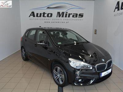 używany BMW 218 1.5dm3 136KM 2016r. 16 048km Active Tourer,gwarancja do 2021r,salon polska,elektryczne fotele