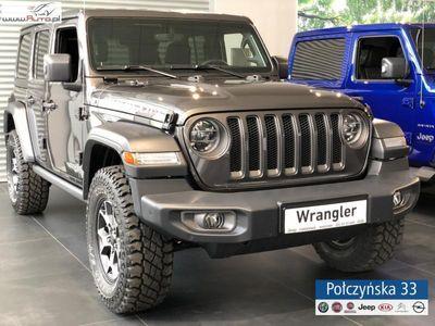 brugt Jeep Wrangler 2dm3 265KM 2018r. 2km JL Unlimited Rubicon 2.0 265KM | NOWY MODEL | Grafit - Granite Crystal