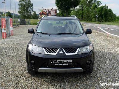 używany Mitsubishi Outlander II 2.0DID 140KM 4x4 4WD Klima Alcantara K.Serwis