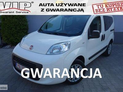 używany Fiat Qubo 1.4dm3 72KM 2013r. 83 000km 1,4i Klima Opłacony Niski Przebieg VIP Gwarancja