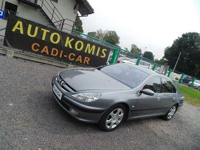 używany Peugeot 607 2dm 108KM 2002r. 190 000km