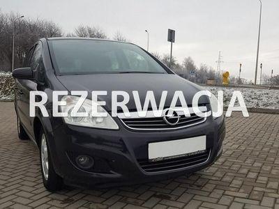 używany Opel Zafira 1.8dm3 140KM 2009r. 187 000km PIĘKNA BEZYNKA SUPER STAN KLIMA LPG 2009 ROK