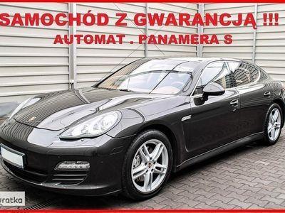 używany Porsche Panamera S + AUTOMAT + Navigacja + Skóra + Bose + SERWIS !!!