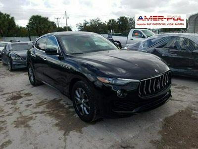używany Maserati Levante 3dm 424KM 2019r. 55 500km