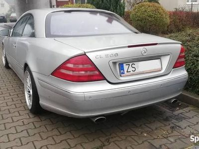 używany Mercedes CL500 2002 rok bez gazu W215