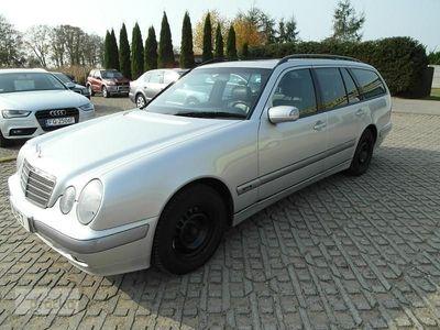 używany Mercedes 200 Klasa E W2102,0 benzyna 163KM zarejestrowany skóry automat klimatyzacja