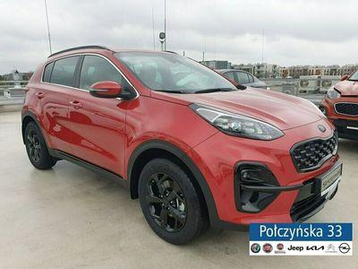 używany Kia Sportage IV 1,6 T-GDi 177 KM 7DCT 4WD| Black Edition Plus |Czerwony|MY21