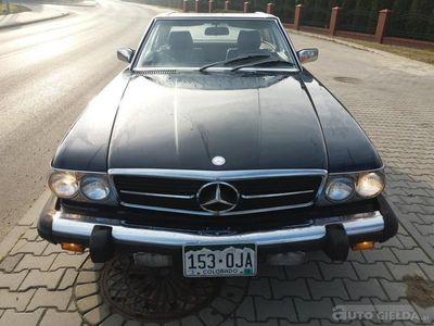 używany Mercedes SL380 SL 380 ORYGINALNY KLASYK Z USAORYGINALNY KLASYK Z USA