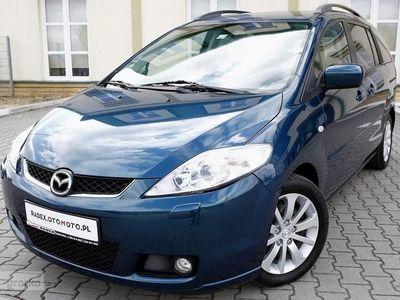 used Mazda 5 I 2.0D 143KM/Klima/6 Biegów/7 Foteli/Xenon/Serwisowany/Bezwyp/GWARANCJ