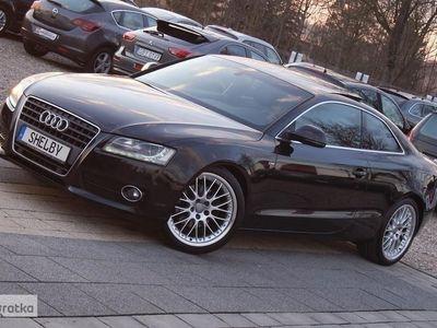 używany Audi A5 I (8T) 2.0TFSI 180KM S LINE Xenon Led Pół Skóra Panorama Serwis Zadbany, Kościerzyna