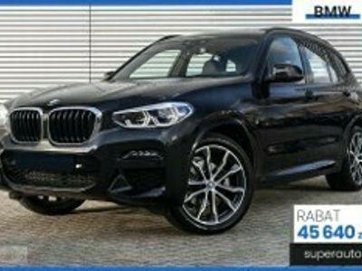używany BMW X3 G01 2.0 xDrive20d (190KM) | M SPORT + Live Cockpit + Asystent parkowan