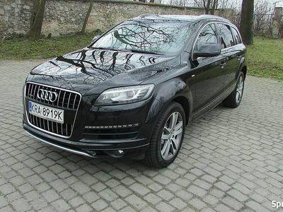 używany Audi Q7 3dm3 245KM 2010r. 295 000km 3.0Tdi 4x4 Lift Ledy SLine alu20 piekny stan okazja ew.zamiana