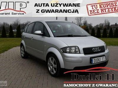 używany Audi A2 1.4dm 75KM 2001r. 269 000km