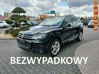 używany VW Touareg R-Line,salon Polska,skóra,nawigacja,4x4,stan bdb,3.0TDI/245KM II (2010-)