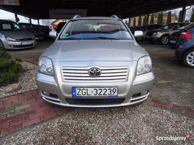 używany Toyota Avensis II SKORA/ GRZANE FOTELE/ TEMPOMAT, Goleniów