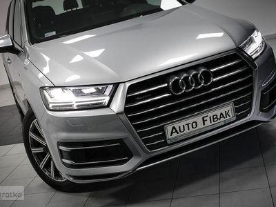 używany Audi Q7 II Salon Polska*I właściciel*QUATTRO*Sline*7 osobowy*Automat*fv23%