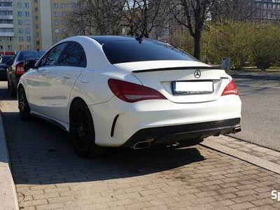 używany Mercedes CLA250 w pakiecie AMG - zamiana