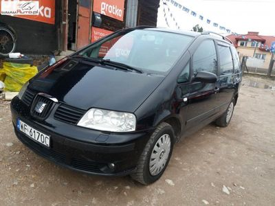 używany Seat Alhambra 1.9dm3 110KM 2002r. 350 000km 2002r 1,9 Diesel Tanio Wawa