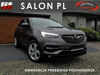 używany Opel Grandland X serwis ASO, nawigacja, Full Led