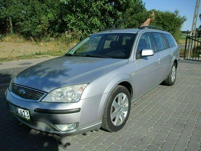 używany Ford Mondeo 2,0 b GHIA KLIMA skóra ful stan b.dobry przygotowany do rej opła Mk3 (2000-2006)