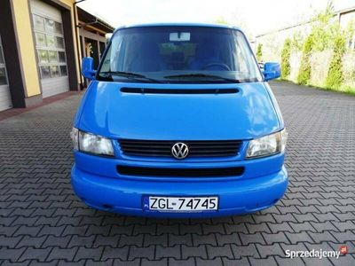 używany VW Multivan 2.5dm 88KM 2002r. 319 000km