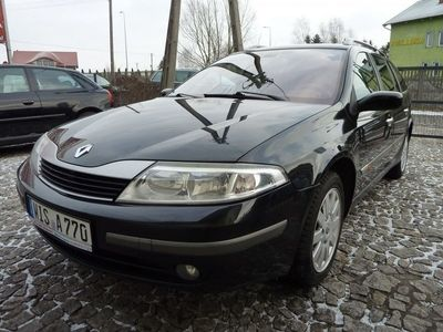 używany Renault Laguna 2dm3 140KM 2002r. 167 000km 2.0 Benz. IDE/Klima/Oryg. 170 tys./Jak Nowa