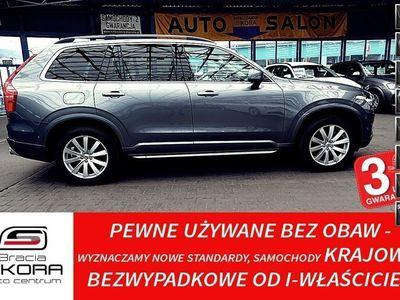 używany Volvo XC90 3 Lata GWARANCJA I-wł Kraj Bezwypadkowy D5 224 KM 4x4 FV23% II (2014-)