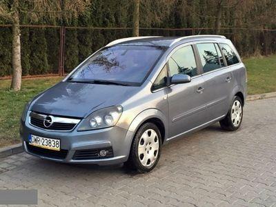 używany Opel Zafira 1.9dm 120KM 2006r. 295 000km